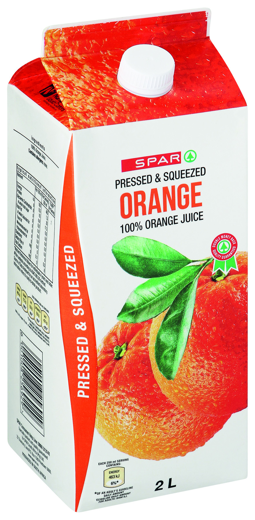 100% fruit juice - orange