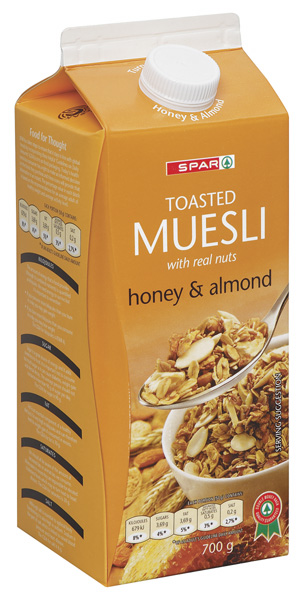 muesli  honey & almond