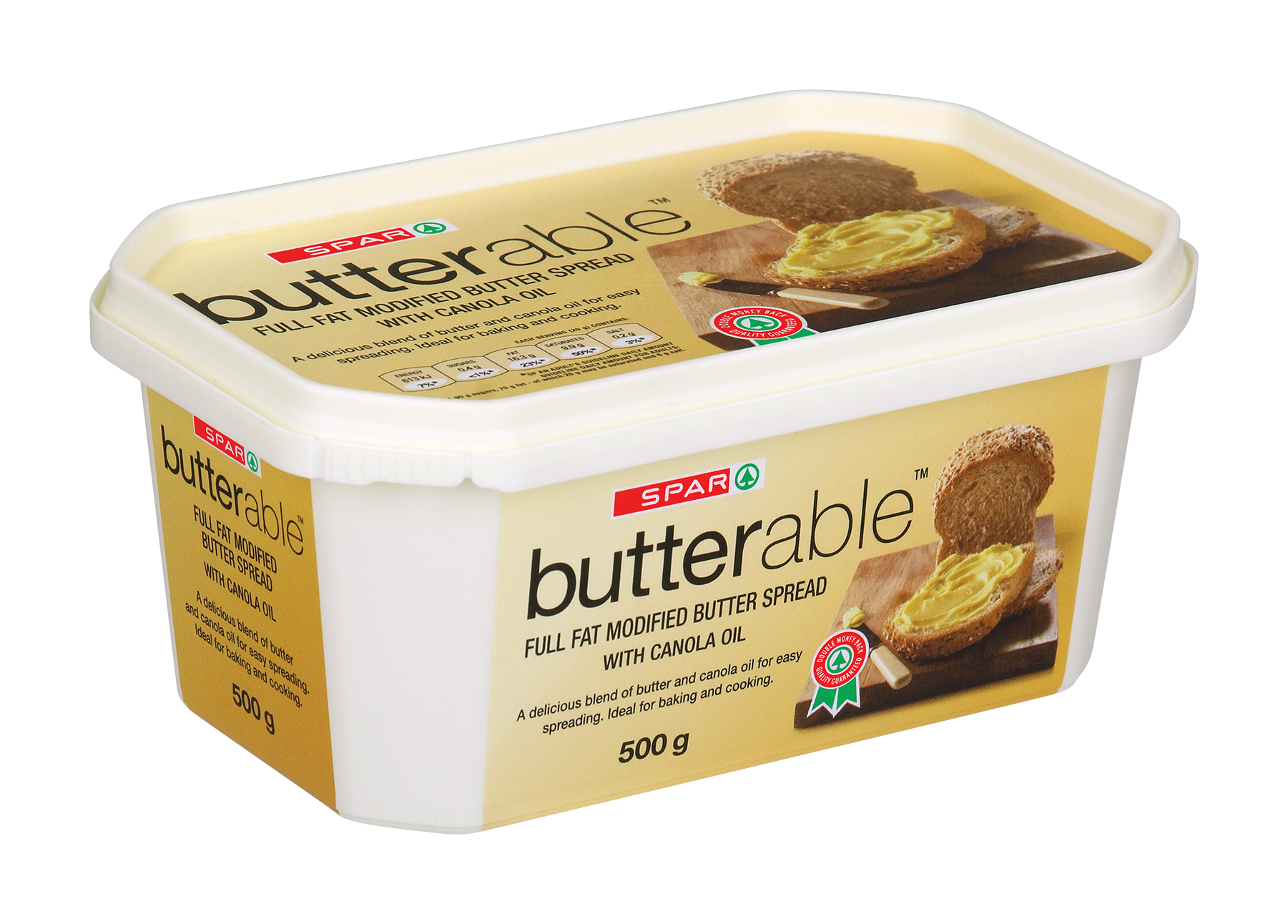 butterable butter spread tub