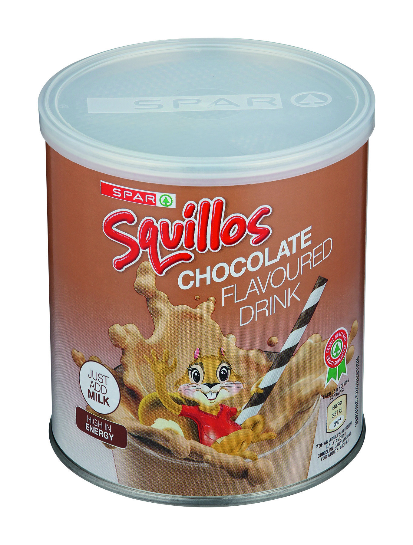 squillos milk modifier chocolate