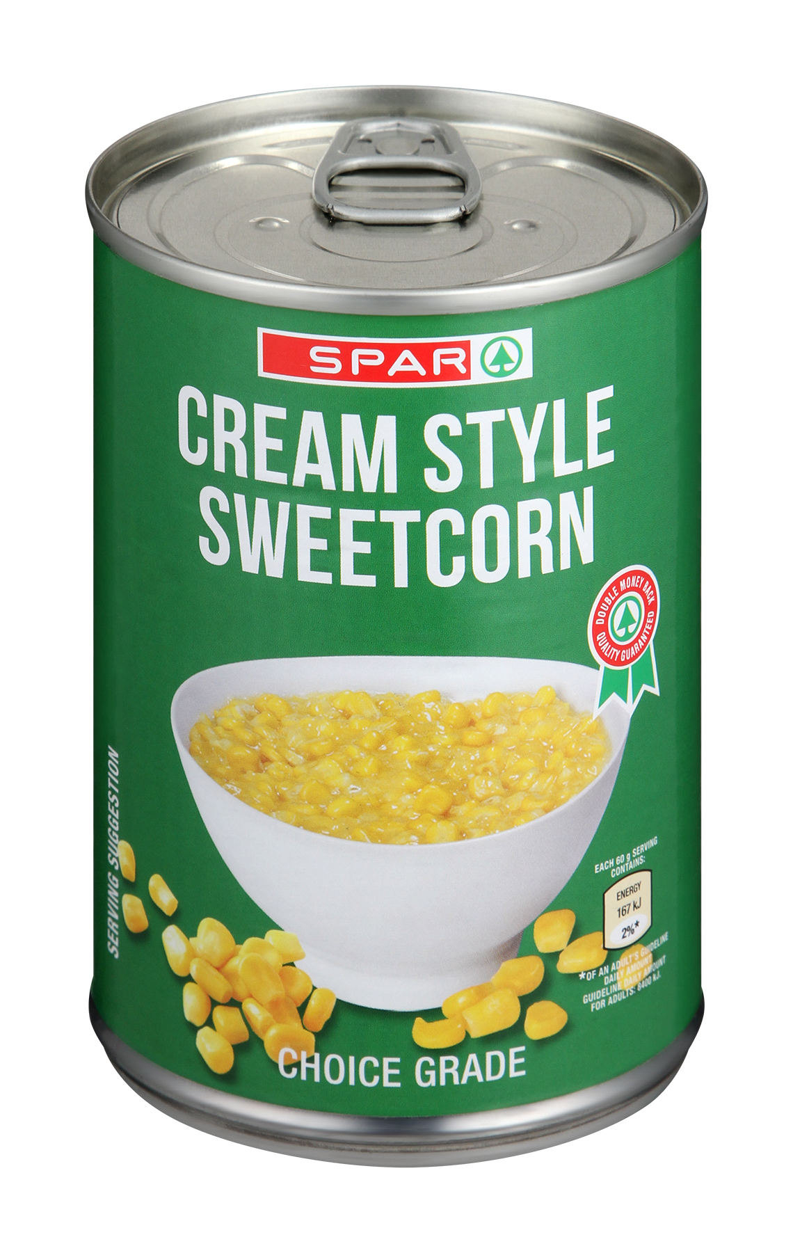 sweetcorn - cream style