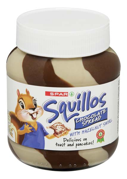 squillos chocolate mixed spread
