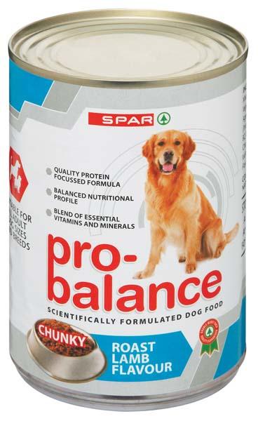 Spar Pro Balance Dog Food