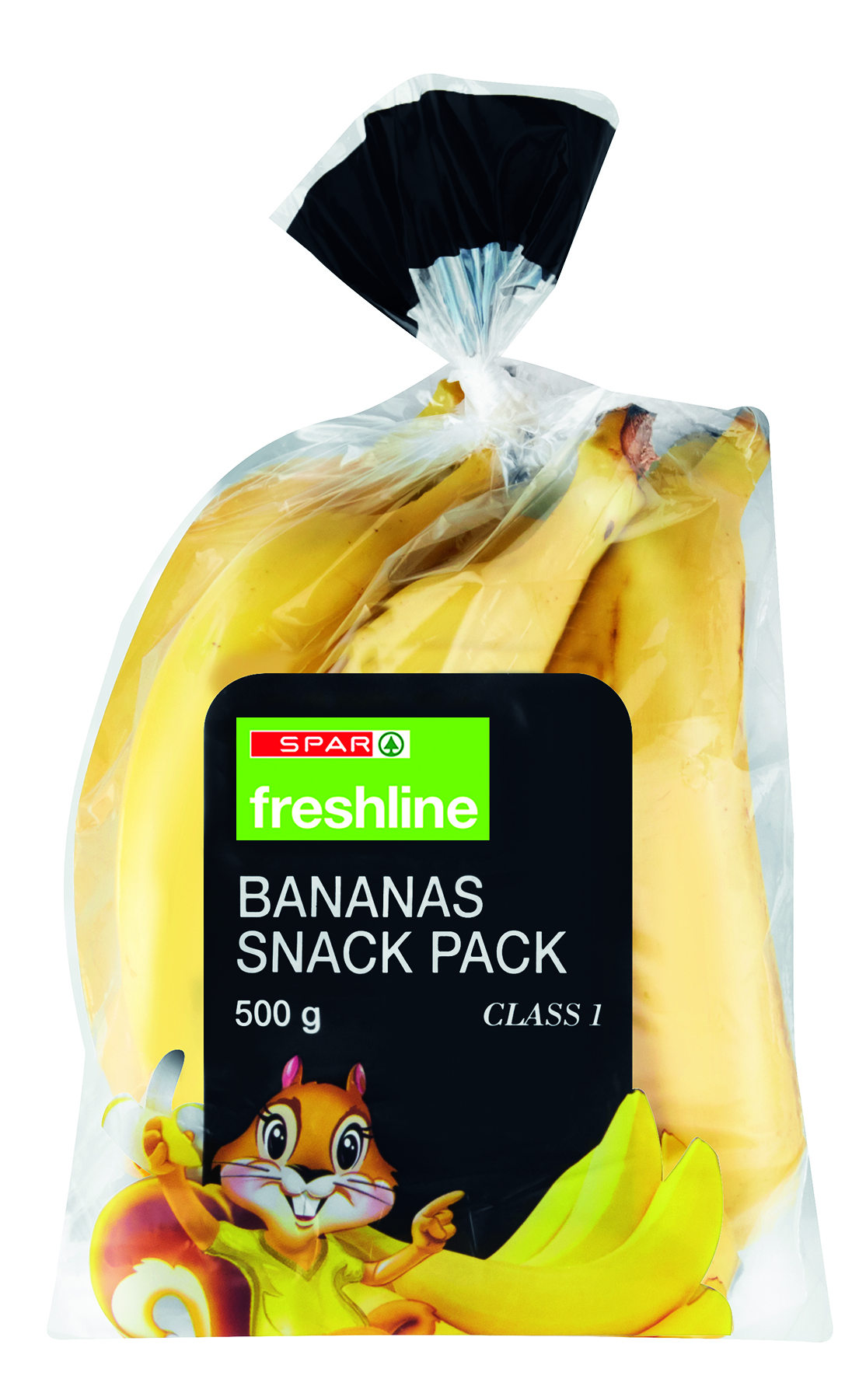 freshline bananas snack pack