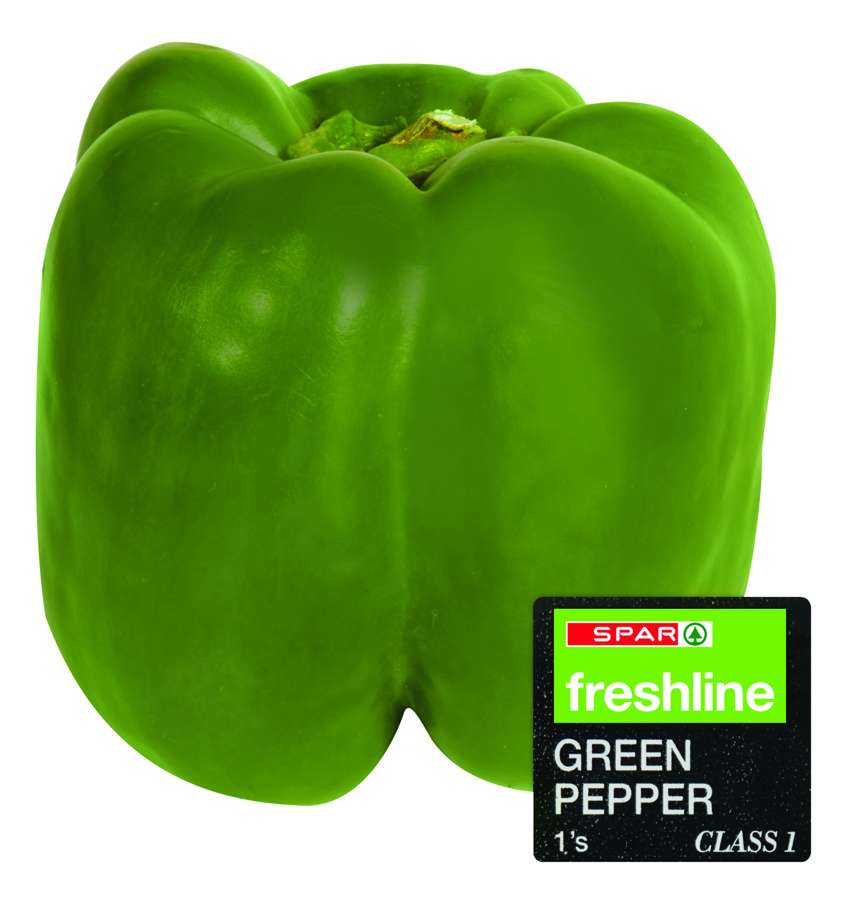 freshline green peppers - single