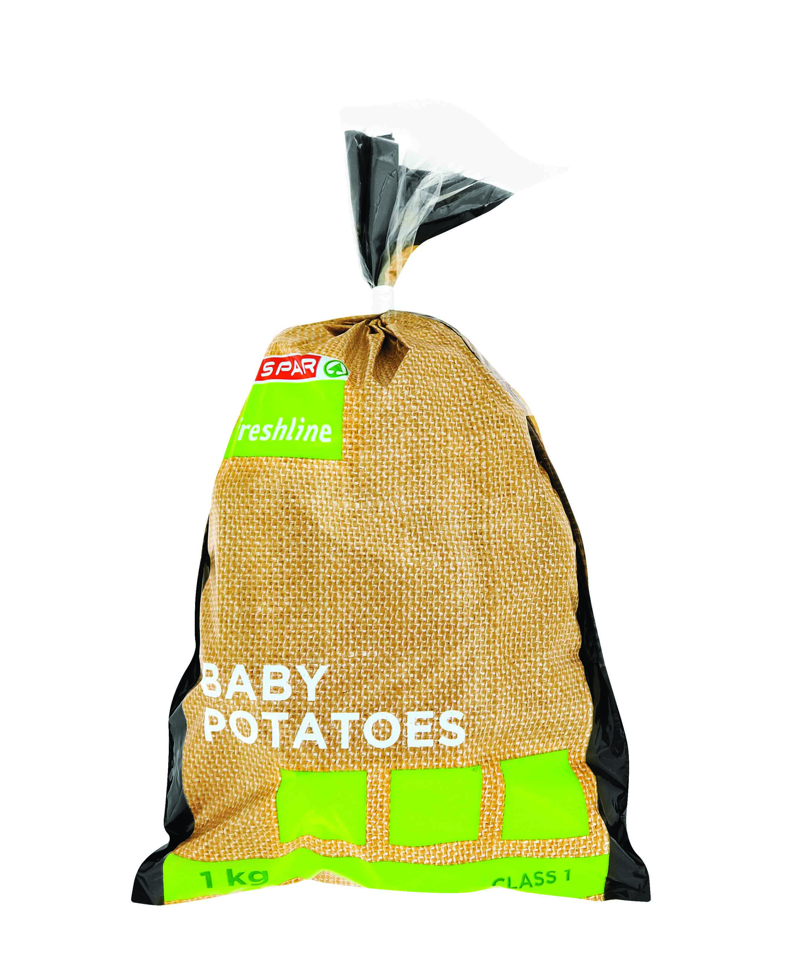 freshline baby potatoes 1kg