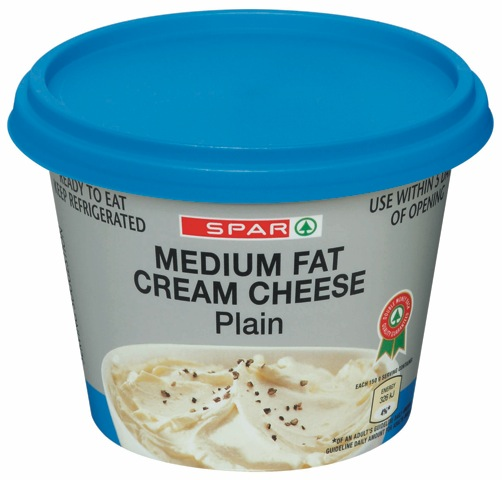 cream cheese medium fat plain