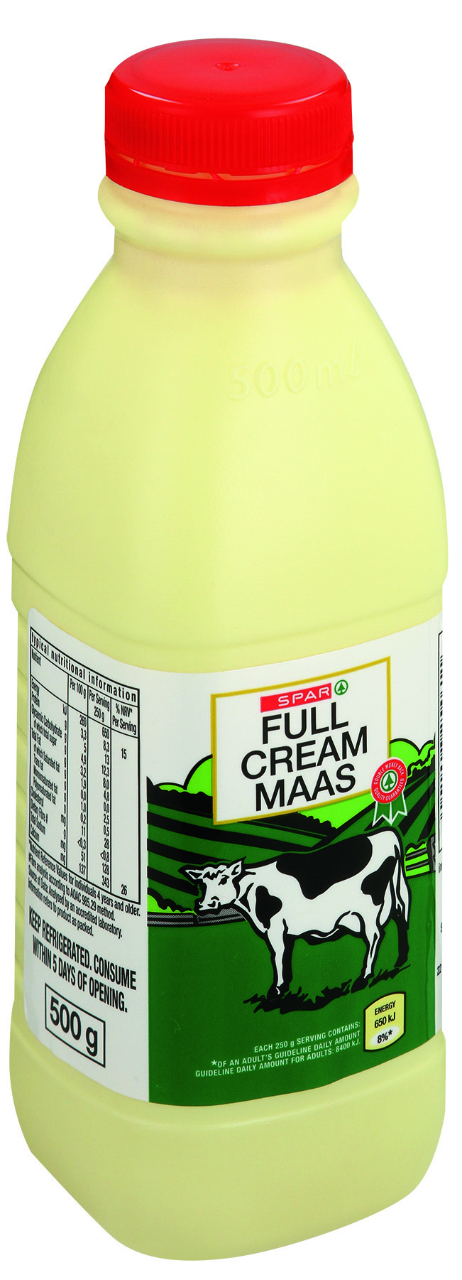 full cream maas