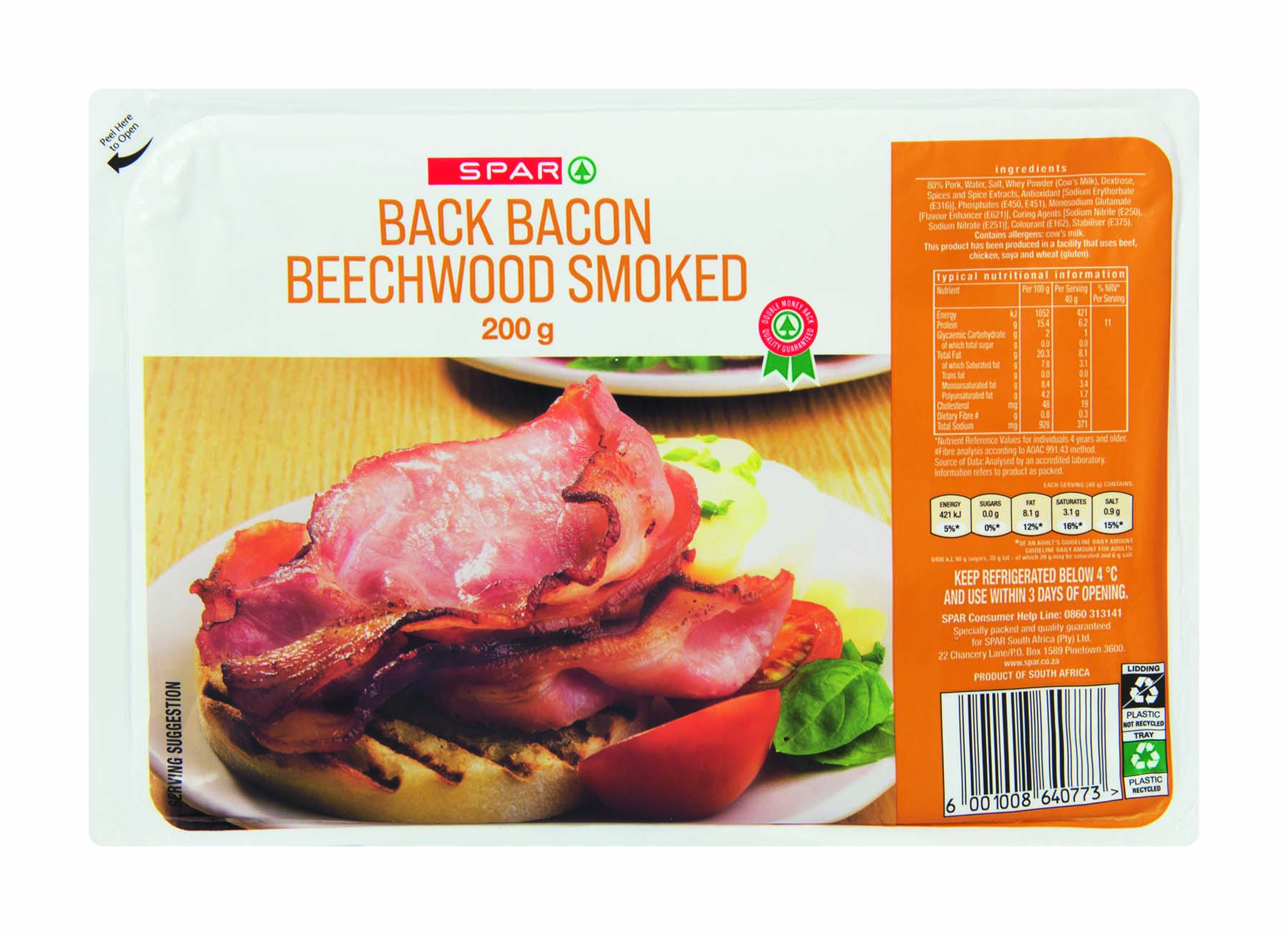 butcher's best back bacon