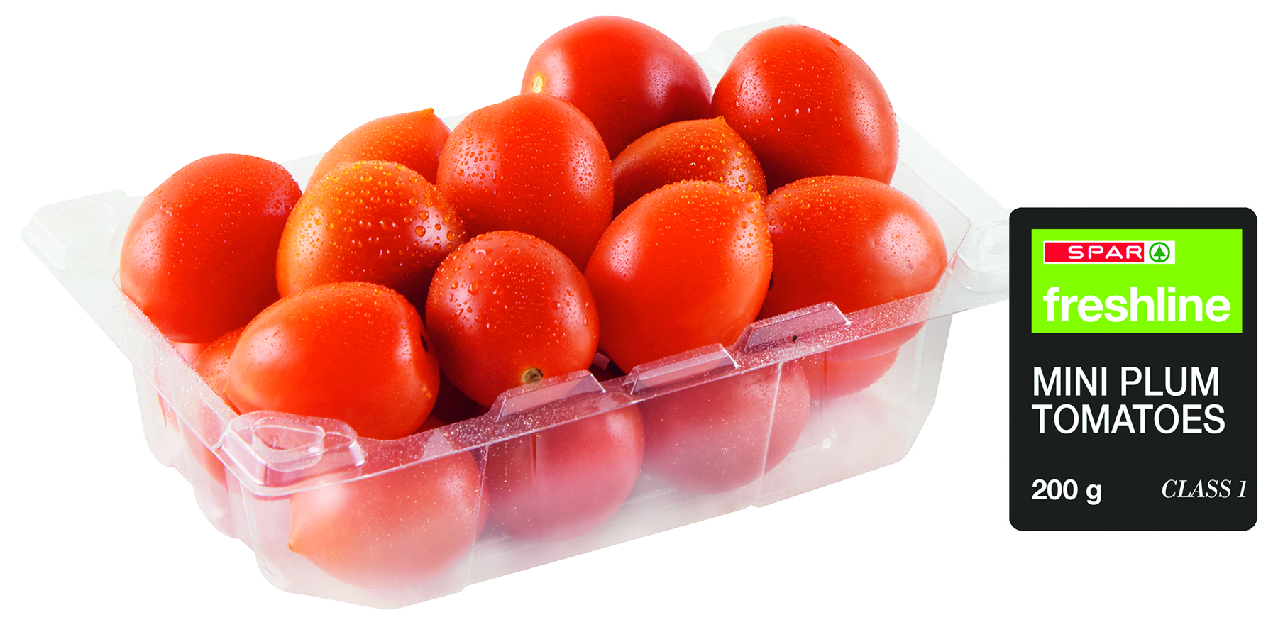 freshline mini plum tomatoes