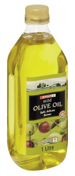 pure and mild olive oil