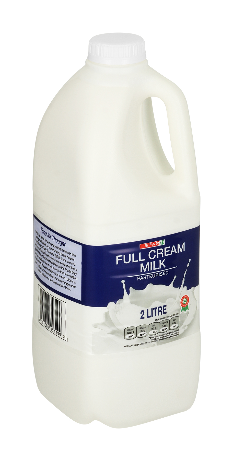 milk full cream jug