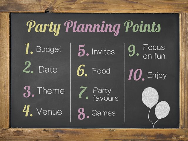 Planning Your Childs Birthday Party