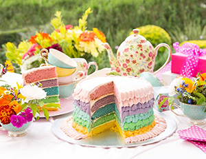 SPAR Inspiration - Mad Hatter's Tea Party Theme for Girls
