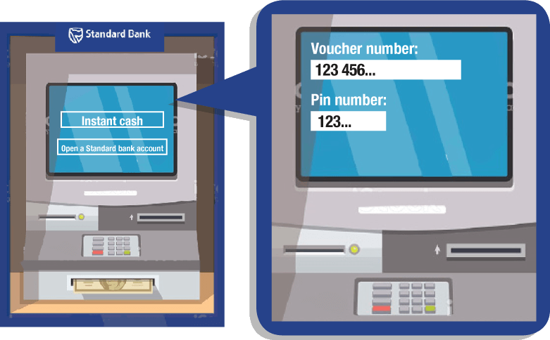 Collect At Any Standard Bank Atm