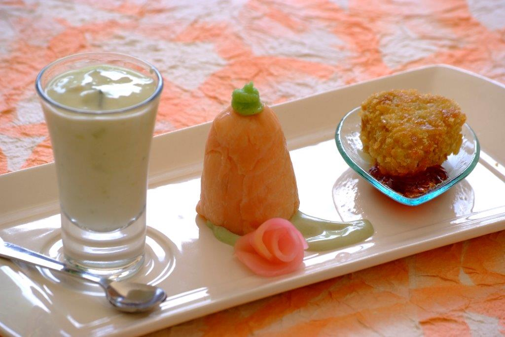 Trio Food Menu