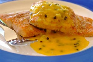 Chicken and passion fruit recipes