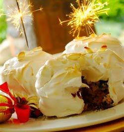 Spar Christmas Baked Alaska Recipe