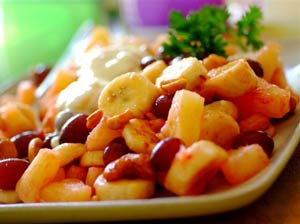 SPAR - Banana Braai Salad Recipe
