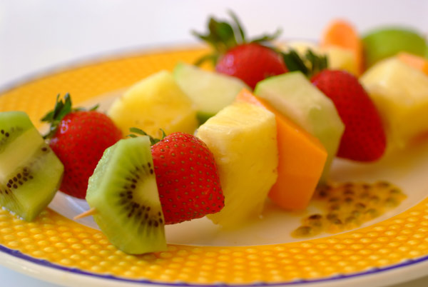 FRUIT KEBABS RECIPE